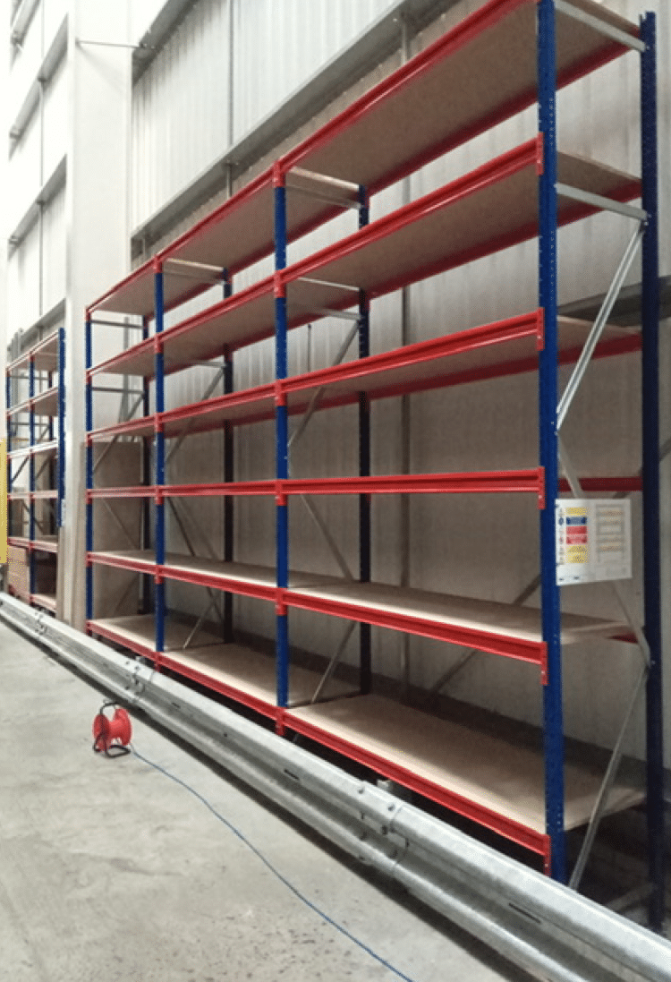 Shelving at Premier Storage